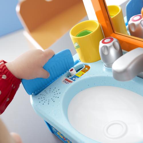 Fisher-Price費雪 齊來學習梳洗面盆