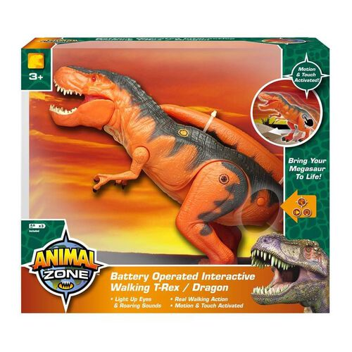 Mighty Megasaur互動步行霸王龍