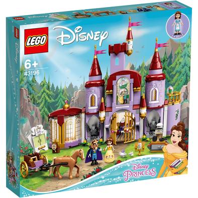 LEGO樂高迪士尼公主系列 貝兒和野獸的城堡 43196