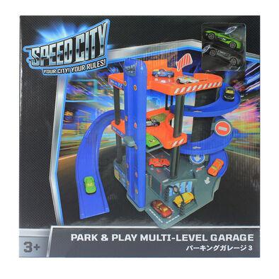 Speed City極速都市 泊車樂趣多層車庫