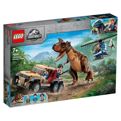 LEGO樂高侏羅紀世界系列 Carnotaurus Dinosaur Chase 76941
