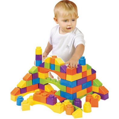 Bru Infant & Preschool 50件積木pvc手提袋裝