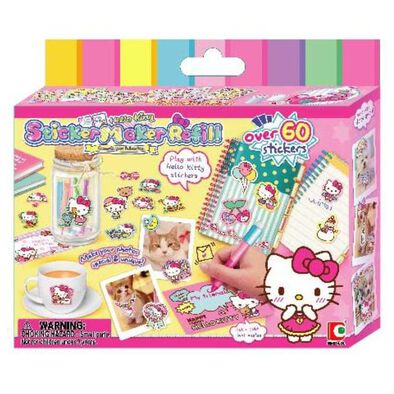 Hello Kitty吉蒂貓 Diy 創意貼紙機補充裝