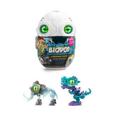 SilverLit銀輝 魔動獸球-數碼龐克 兩件套裝 (金屬色/夜光) 暴龍及猛獁象