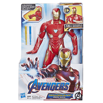 Marvel Avengers漫威復仇者聯盟 鐡甲奇俠電子人偶