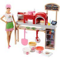 Barbie芭比比薩廚師遊戲組
