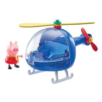 Peppa Pig粉紅豬小妹 可愛直升機