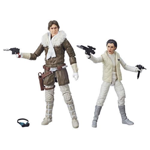 Star Wars星球大戰 Black Series 韓索羅 & 莉亞公主 特別套裝