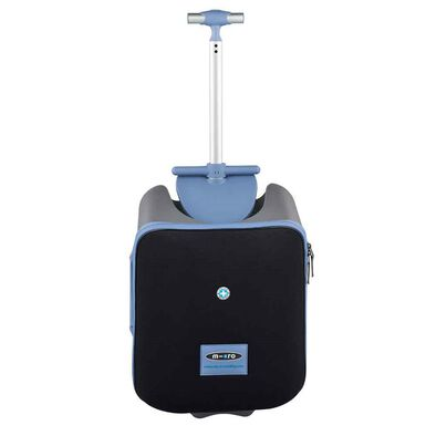 Micro Mobility Micro 便利【帶娃】行李箱 - 冰藍色