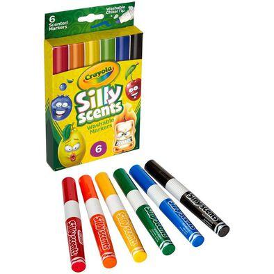 Crayola繪兒樂香味6支裝尖頭水彩筆