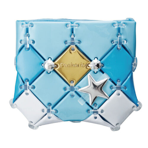 Beverly Pacherie 時尚巧拼包 - Diy氣質小物收納袋(水藍)