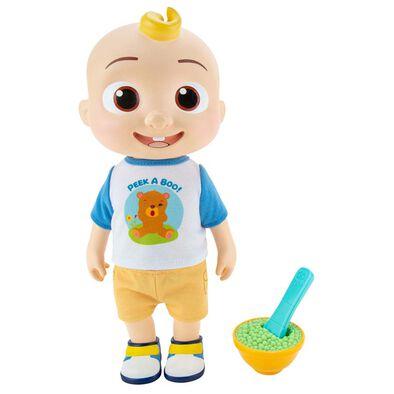 Cocomelon Roto Soft Toy - Deluxe Interactive JJ Doll