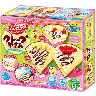 Kracie Foods 知育果子系列–食玩diy法式可麗餅