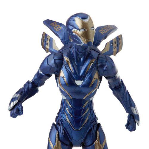 "Marvel漫威 Legends Series 6""人物模型Marvel 隊長及Rescue盔甲 Infinity Saga"