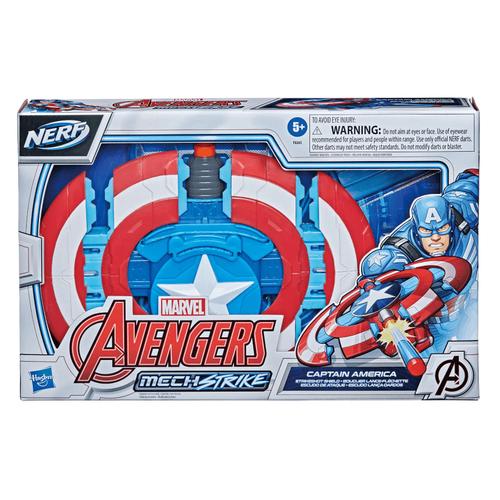 Marvel Avengers漫威復仇者聯盟 機甲突擊系列 美國隊長飛彈盾