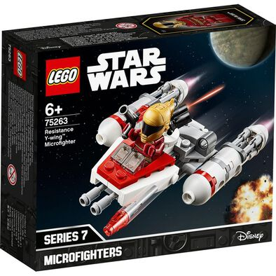 LEGO樂高星球大戰系列 LEGO Star Wars Resistance Y-Wing Microfighter 75263