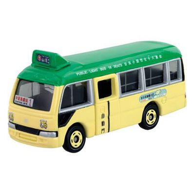 Tomica多美 車仔 綠色香港公共小巴