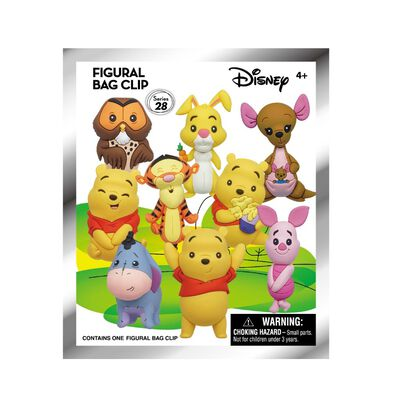Winnie The Pooh小熊維尼立體珍藏匙扣-小熊維尼 - 隨機發貨