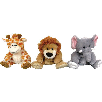 Animal Alley寵物王國 8.5吋可愛動物手偶 隨機發貨