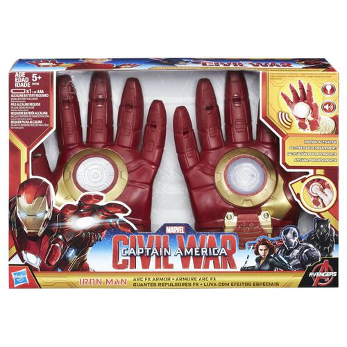 Marvel Captain America Civil War Iron Man Arc Fx Armor