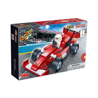 Banbao邦寶 紅色賽車