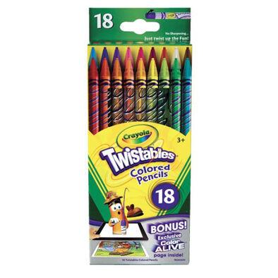 Crayola繪兒樂 18Ct Twistables Colored Pencils