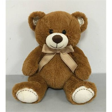 "Animal Alley 10.5"" Sitting Bear (Brown)"