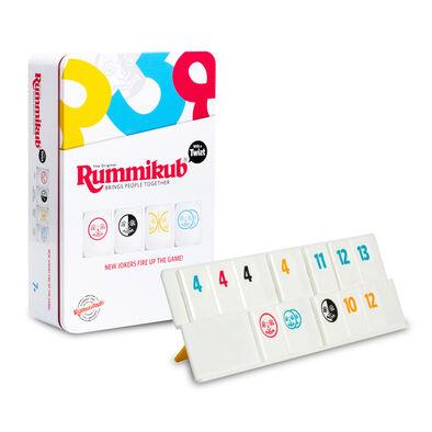 Rummikub魔力橋數字牌遊戲鐵盒旅行裝百變版