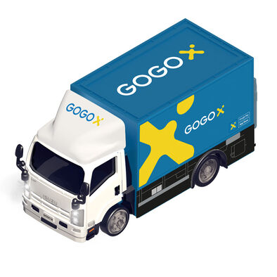 Konsept Mini 1:72 Rc Isuzu N Series - Gogox Truck