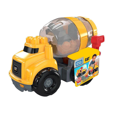 Mega Bloks美高積木first Builders系列caterpillar Cement Mixer