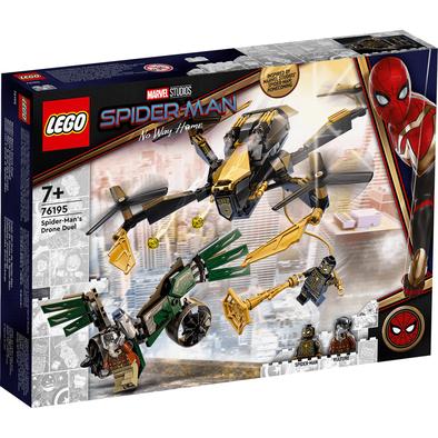 LEGO樂高漫威超級英雄系列 Spider-Man's Drone Duel 76195