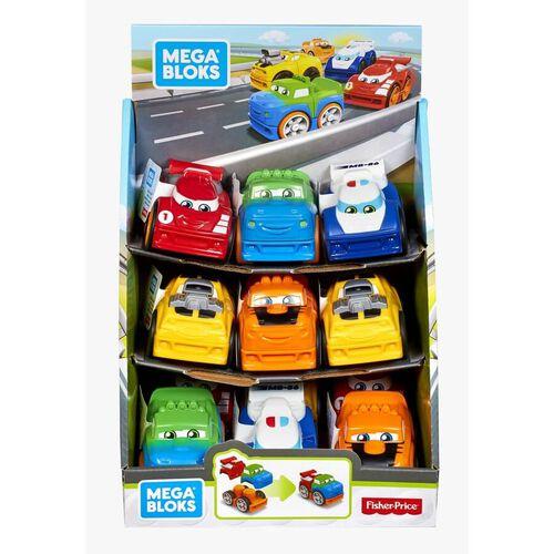 Mega Bloks美高積木first Builders系列小賽車 - 隨機發貨