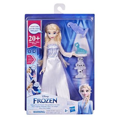 Disney Frozen迪士尼魔雪奇緣2 說話的愛莎和好朋友
