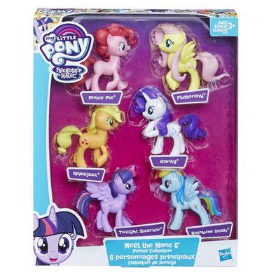 My Little Pony小馬寶莉 主角六隻裝