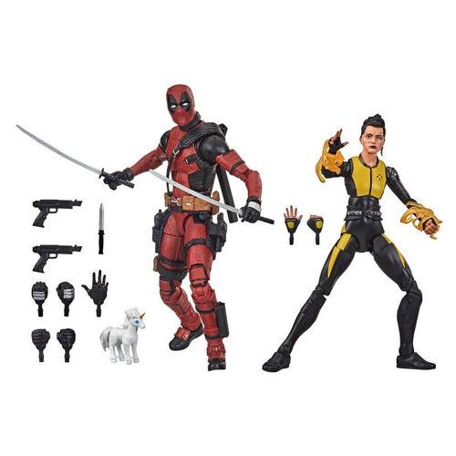 Marvel漫威傳奇系列  X戰警-死侍和青少女彈頭