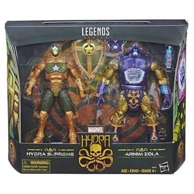 Marvel漫威legends 系列 6寸公仔hail Hydra