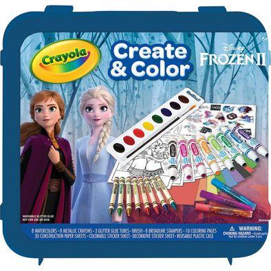 Crayola繪兒樂disney Frozen迪士尼魔雪奇緣2 顏色套裝