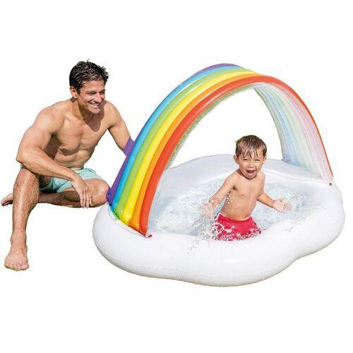 Intex 彩虹雲嬰兒池