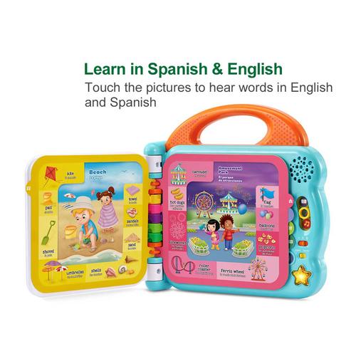 LeapFrog跳跳蛙 100個日常用字雙語學習書 - 隨機發貨