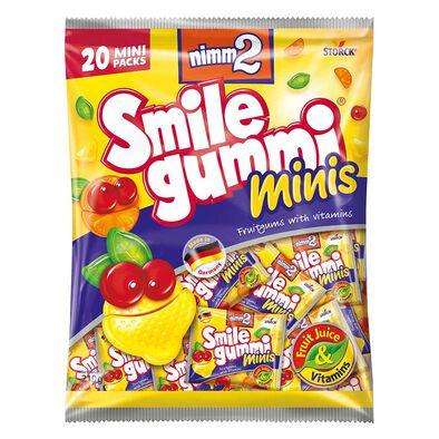 二寶smilegummi果汁橡皮糖分享裝 (20小包)