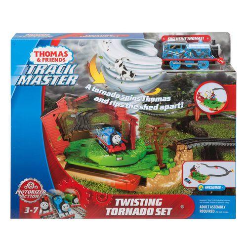 Thomas & Friends湯瑪士小火車電動系列龍捲風暴組