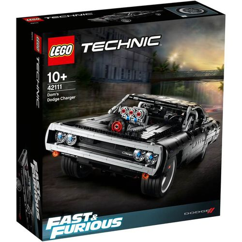 LEGO樂高機械組系列 LEGO Technic Dom'S Dodge Charger 42111