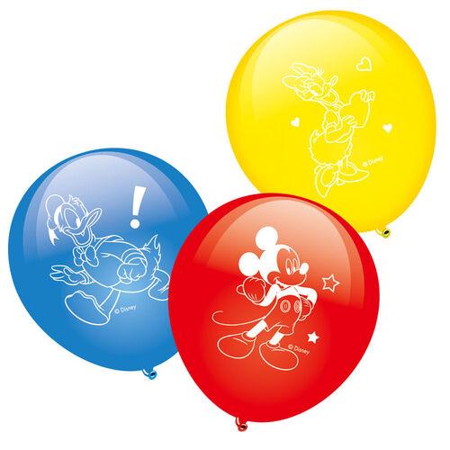 Disney迪士尼 米奇印刷氣球 - 隨機發貨