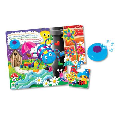 The Learning Journey My First Sing Along Puzzle, Itsy Bitsy Spider