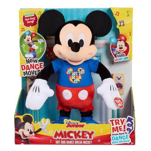 Disney迪士尼 米奇熱狗舞動公仔
