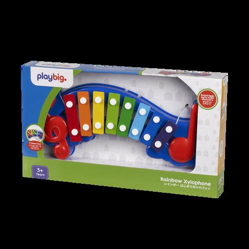 Play Big 彩虹學習鐵琴盒裝