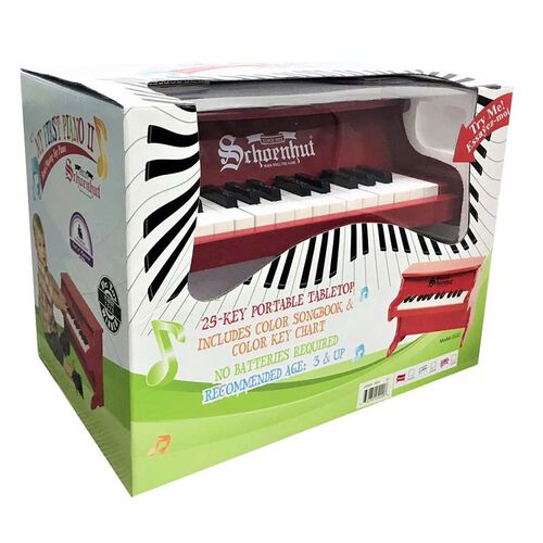 Schoenhut My First Piano II - 25音 (紅色)