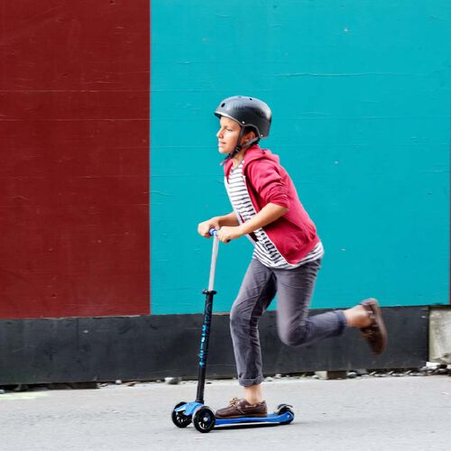 Micro Mobility 經典版中童滑板車 - 紅色
