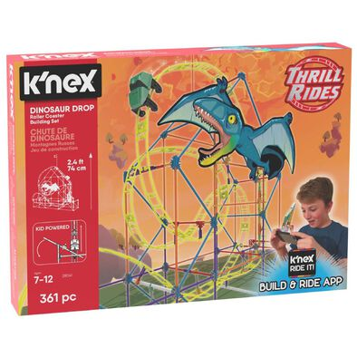 K'Nex科樂思 恐龍過山車套裝