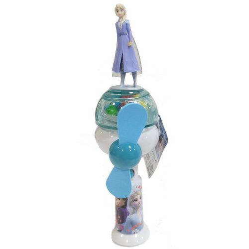 Disney Frozen迪士尼魔雪奇緣 2 風扇連糖果10克 - 隨機發貨